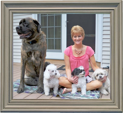 Diane Mozes, Wagging Tails Home Pet Care and Pet Sitting Services